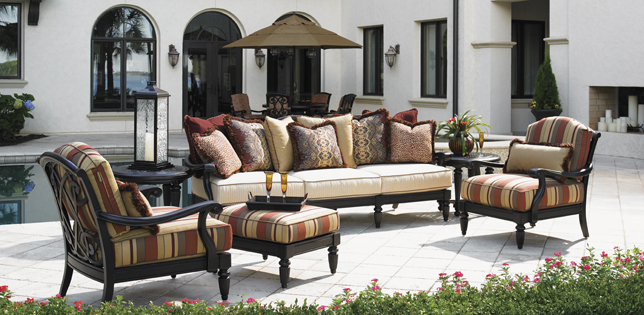 Awesome luxury patio furniture luxury wicker outdoor furniture
