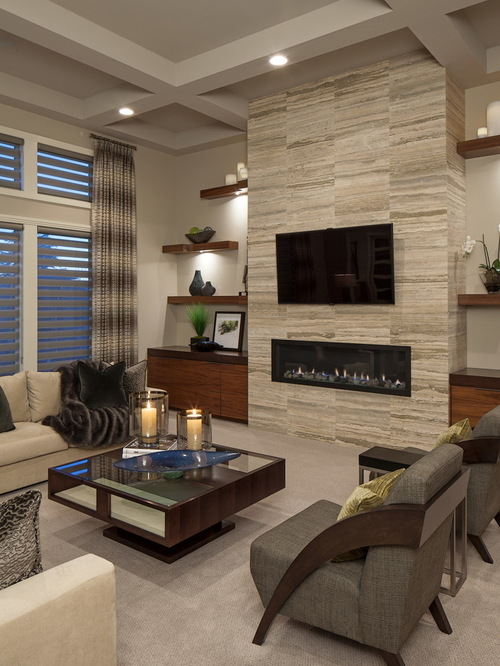Awesome Save Photo modern style living room designs