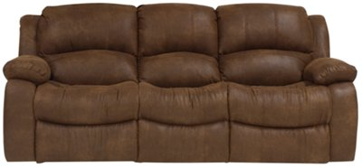 Awesome Tyler2 Medium Brown Microfiber Power Reclining Sofa reclining microfiber sofa