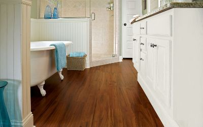 Best If you want to update your bathroom easily and affordably, install a new bathroom laminate flooring