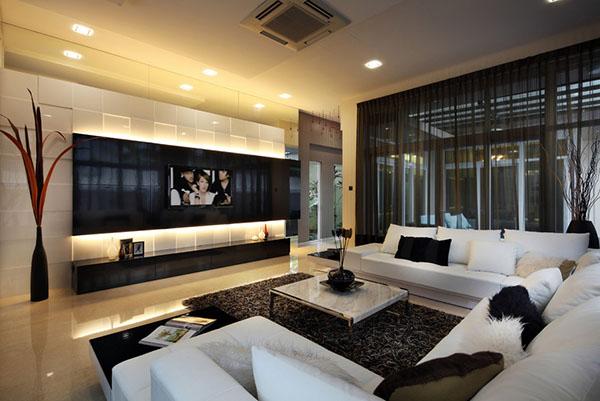 Beautiful 15 Modern Day Living Room TV Ideas modern house interior design living room