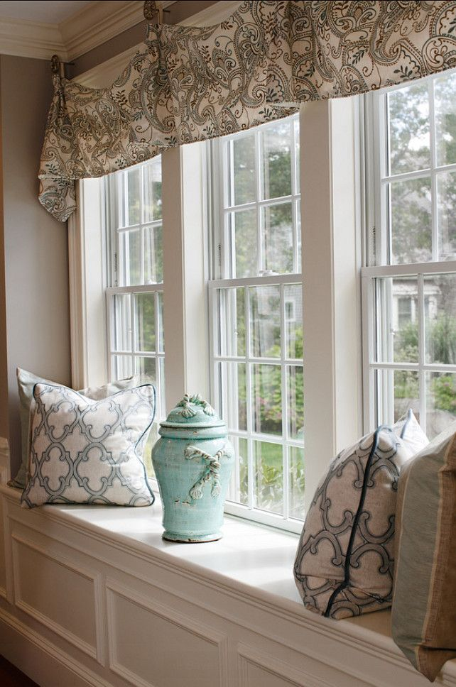 You can add more life and shading to a dull looking window - Window treatment ideas pictures ...