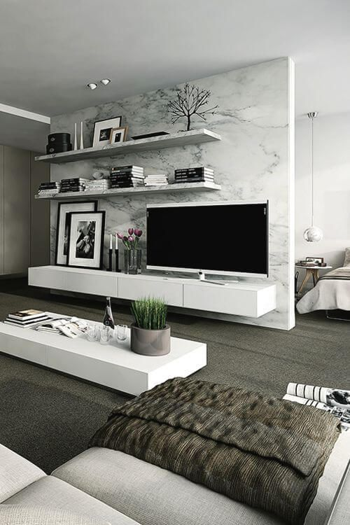 good Modern Bedroom Looks Part - 20: Beautiful 40 TV Wall Decor Ideas. Furniture Living Room IdeasLuxury Modern  ... modern