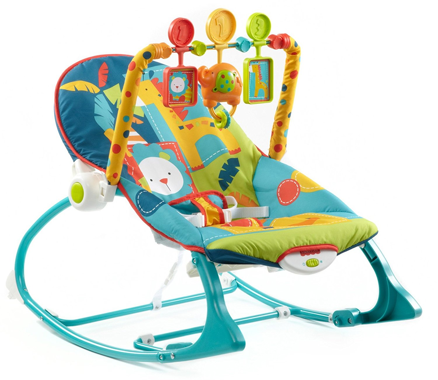Beautiful Amazon.com : Fisher-Price Infant To Toddler Rocker, Dark Safari : Infant baby rocking chair