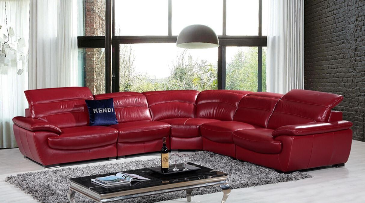 red leather htm sectional sofa tos list p modern price couches couch