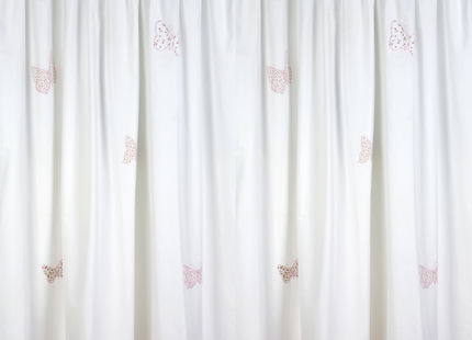 Beautiful Bella Butterfly White Ready Made Curtains at Laura Ashley white butterfly curtains