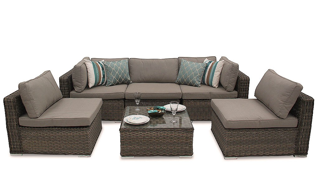 Beautiful Brown Rattan Garden Furniture With rattan garden furniture cushions