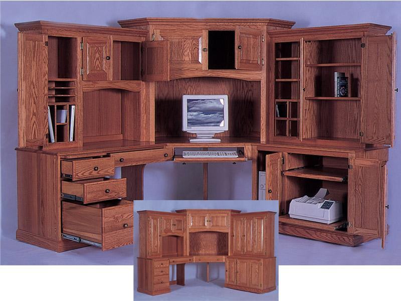 Beautiful Corner Computer Desk with Hutch corner computer desk with hutch