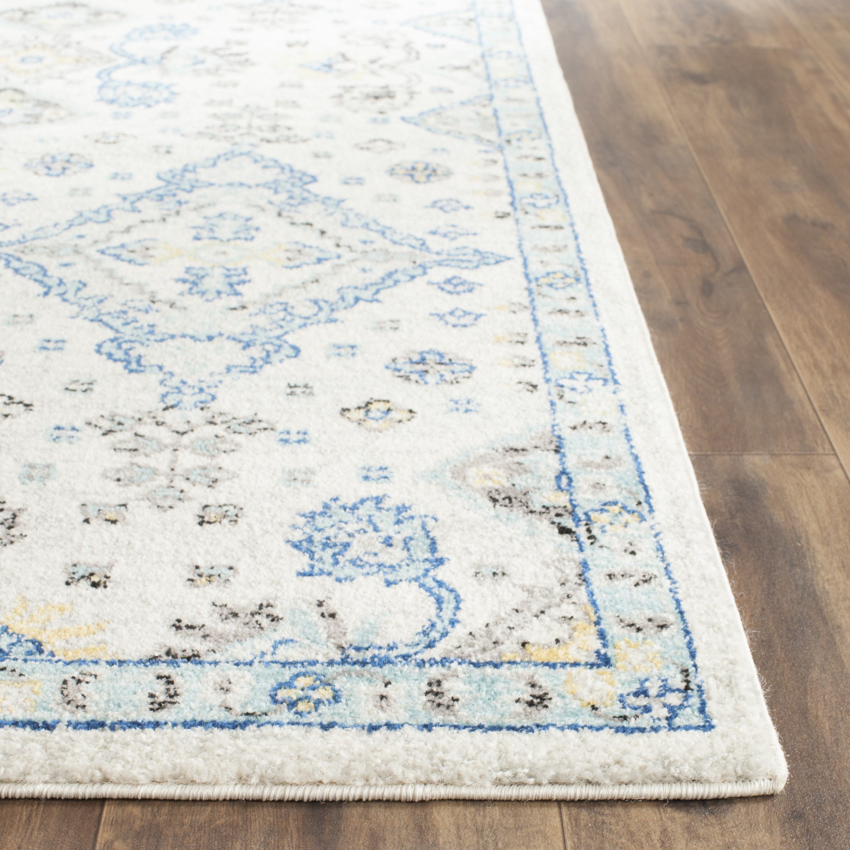 Beautiful Darby Home Cou0026reg; Minonk Ivory/Light Blue Area Rug light blue area rug