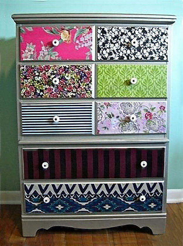 Beautiful DIY Teen Room Decor Ideas for Girls | DIY Mod Podge Dresser diy teen room decor