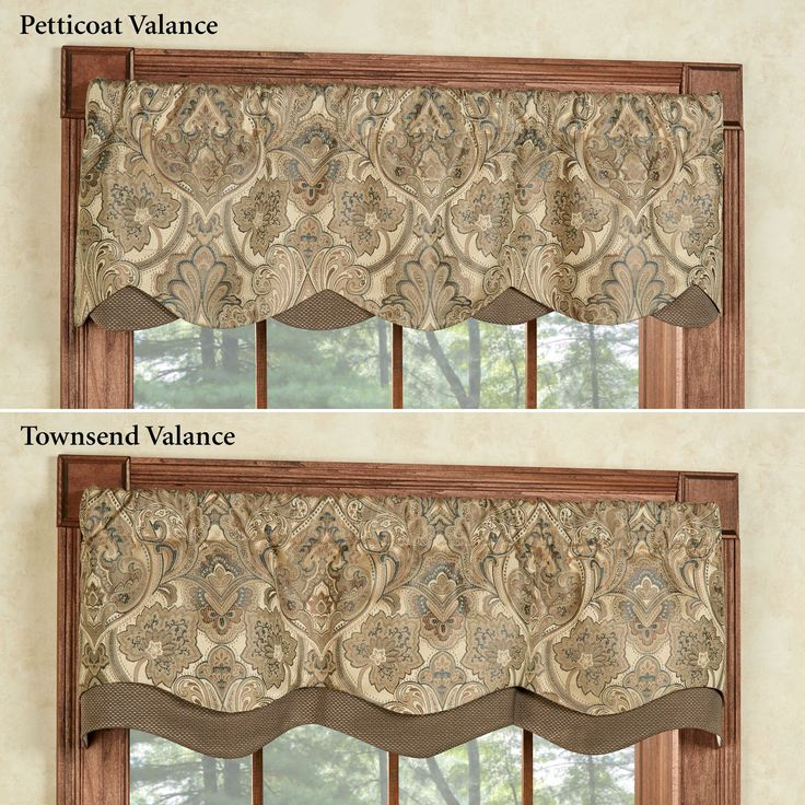You can add more life and shading to a dull looking window by utilizing window valances