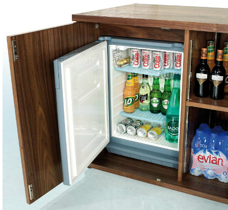 Beautiful Home · Product; Ambus Credenza with Fridge office credenza with refrigerator