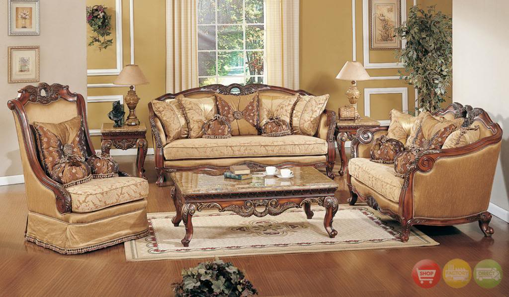 Beautiful Homey Design Sofas traditional living room furniture sets