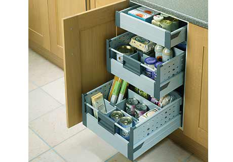 Beautiful Internal Drawers For Hi line Base Unit kitchen base units with drawers