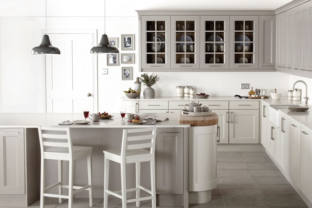 Gray And White Kitchen Designs Getting Best White Kitchen Designs For Your Home .