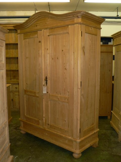 Beautiful large antique pine wardrobe antique pine wardrobe