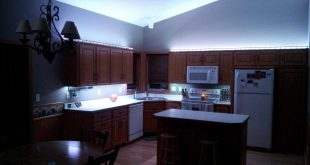Beautiful ... Led Kitchen Lighting Ceiling Lowes Blue Colored Light White Strip Under led kitchen lightings