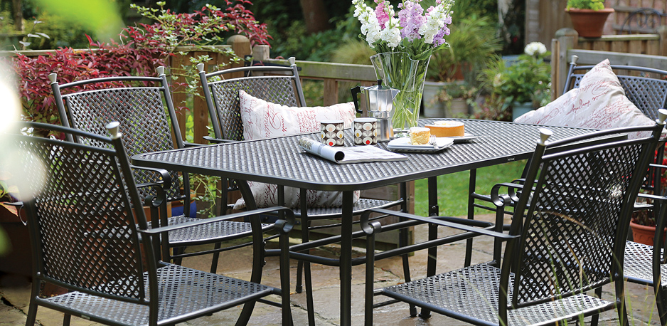 Beautiful Metal Garden Furniture Sets Uk Cadagu Outdoor