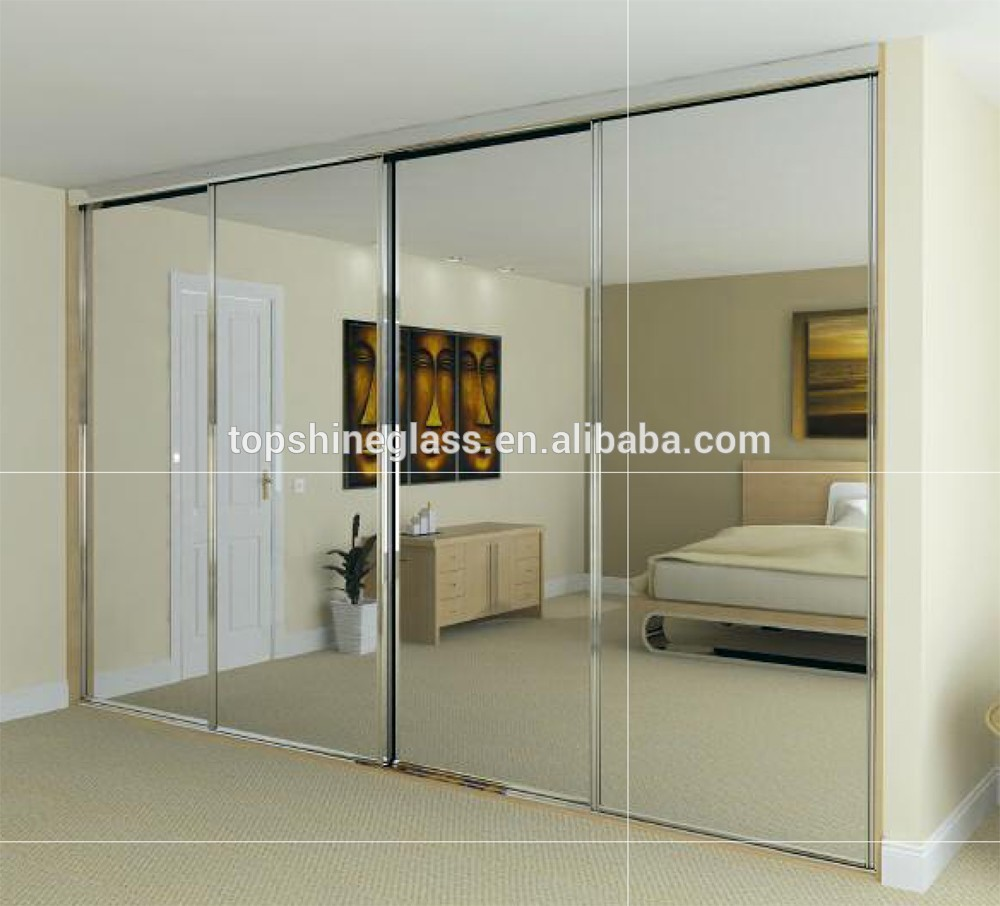 Beautiful Mirror Sliding Door Wardrobe Sliding mirrored sliding wardrobe