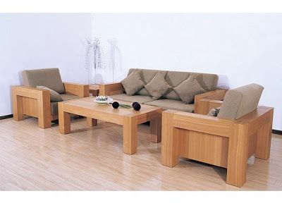 Beautiful Modern Wooden Sofa Set Designs wooden sofa set designs