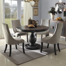 Beautiful Round Kitchen u0026 Dining Room Sets Youu0027ll Love | Wayfair white round dining table set