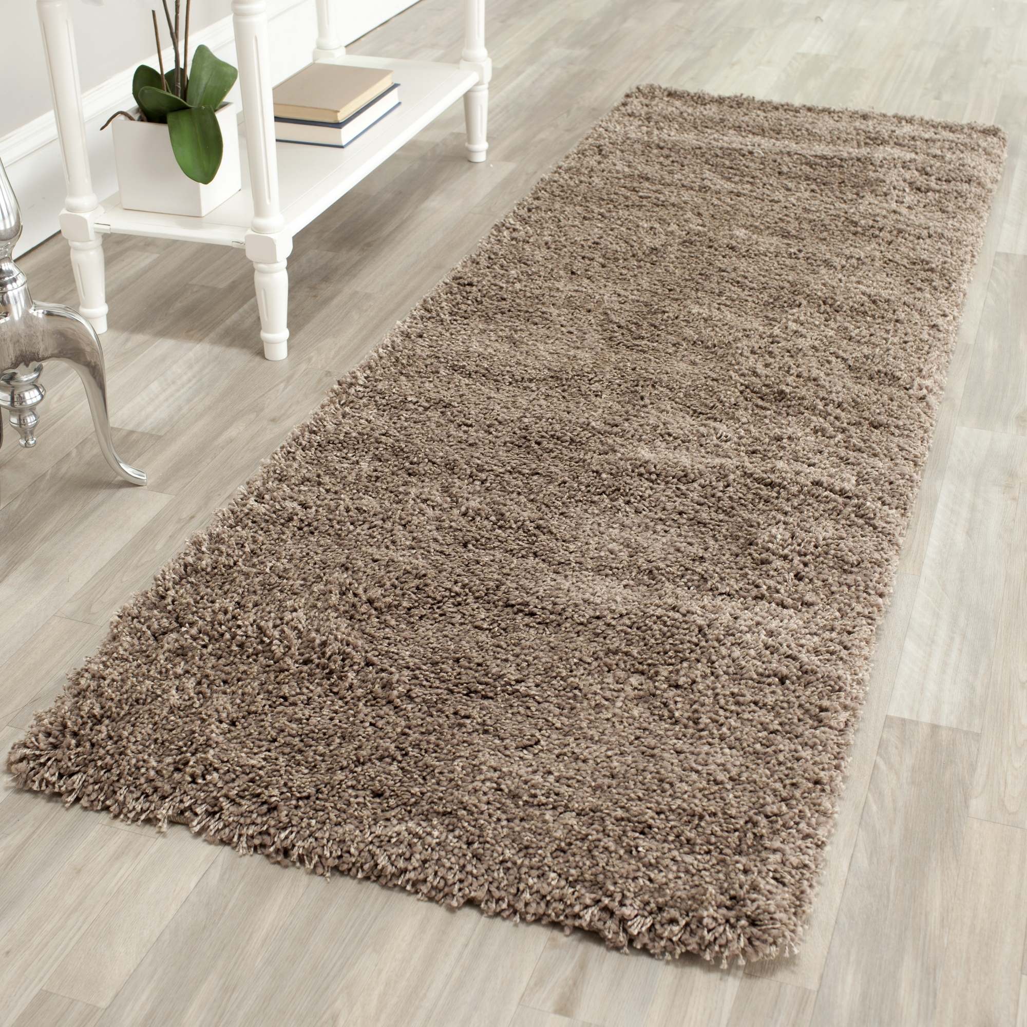 Beautiful Safavieh-Power-Loomed-TAUPE-Plush-Shag-Area-Rugs- plush area rugs