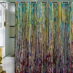 Beautiful Shower Curtain Line Study 3 (by DENY Designs) multicolor cool shower curtains for men