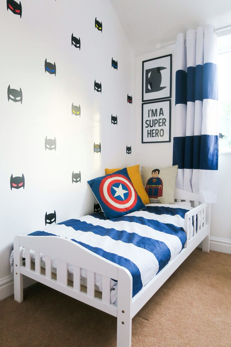 Beautiful Super hero bedroom tour. Loads of simple superhero bedroom ideas for kidsu2026 kids room ideas for boys