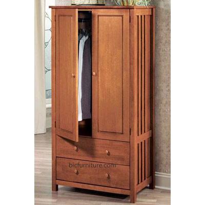 Beautiful teakwood_2_door_2_drawer_wardrobe wooden wardrobe with drawers