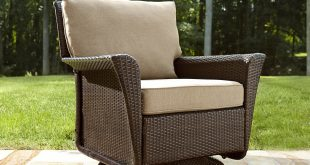 Beautiful Ty Pennington Style Parkside Swivel Outdoor Chair in Tan - Sears swivel glider patio chairs