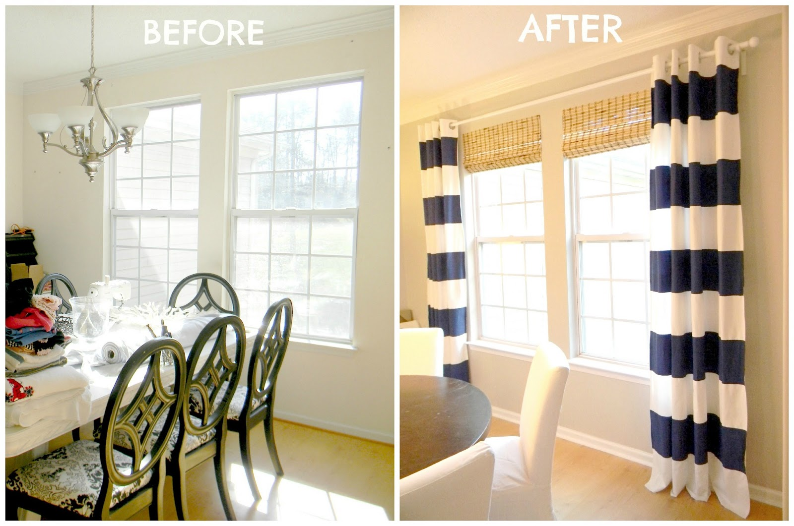 Beautiful ... White Striped Curtains 511x600 · Navy ... navy and white striped curtains