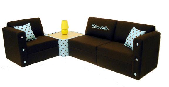Beautiful Your Cart Contents kids sectional sofa