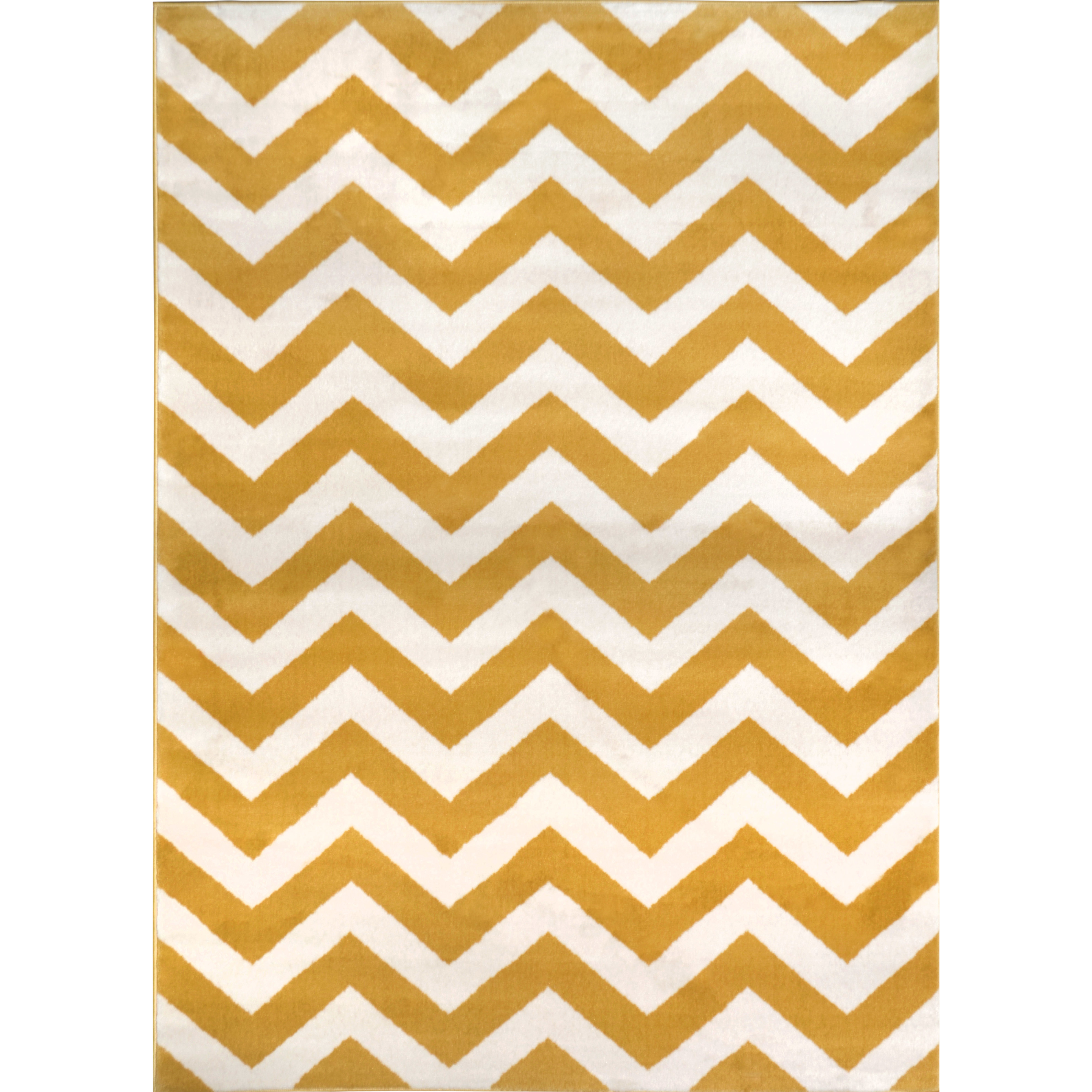 Beautiful Zipcodeu0026trade; Design Brianna Yellow ... mustard yellow area rug