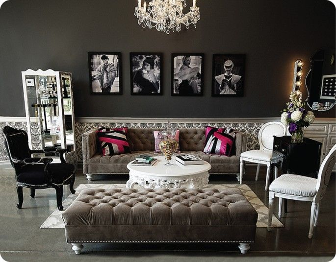 Stunning Make-up room lounge space!! ??? Lashfully :: Newport Beach u0026 Beverly  Hills beauty salon waiting room furniture