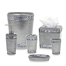 Elegant image of Omni Bath Ensemble in Pewter bed bath and beyond bathroom sets