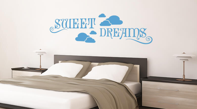 Best Wall Stickers Bedroom Shop - wall-art.com bedroom wall art stickers