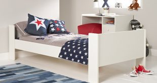 Images of Solitaire - Solitaire White Single Bed beds for boys