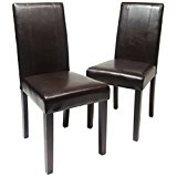 Best 1-24 results for Home u0026 Kitchen : Furniture : Kitchen u0026 Dining Room black leather dining room chairs