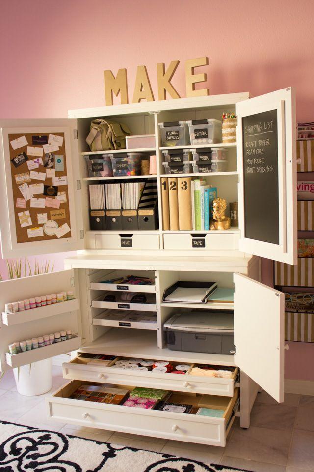 Best 25+ best ideas about Craft Storage Furniture on Pinterest | Sewing room craft storage furniture