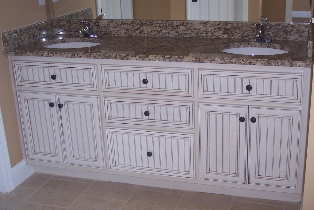 Give A New Look To Your Small Size Bathroom With Bead Board Beadboard Cabinets