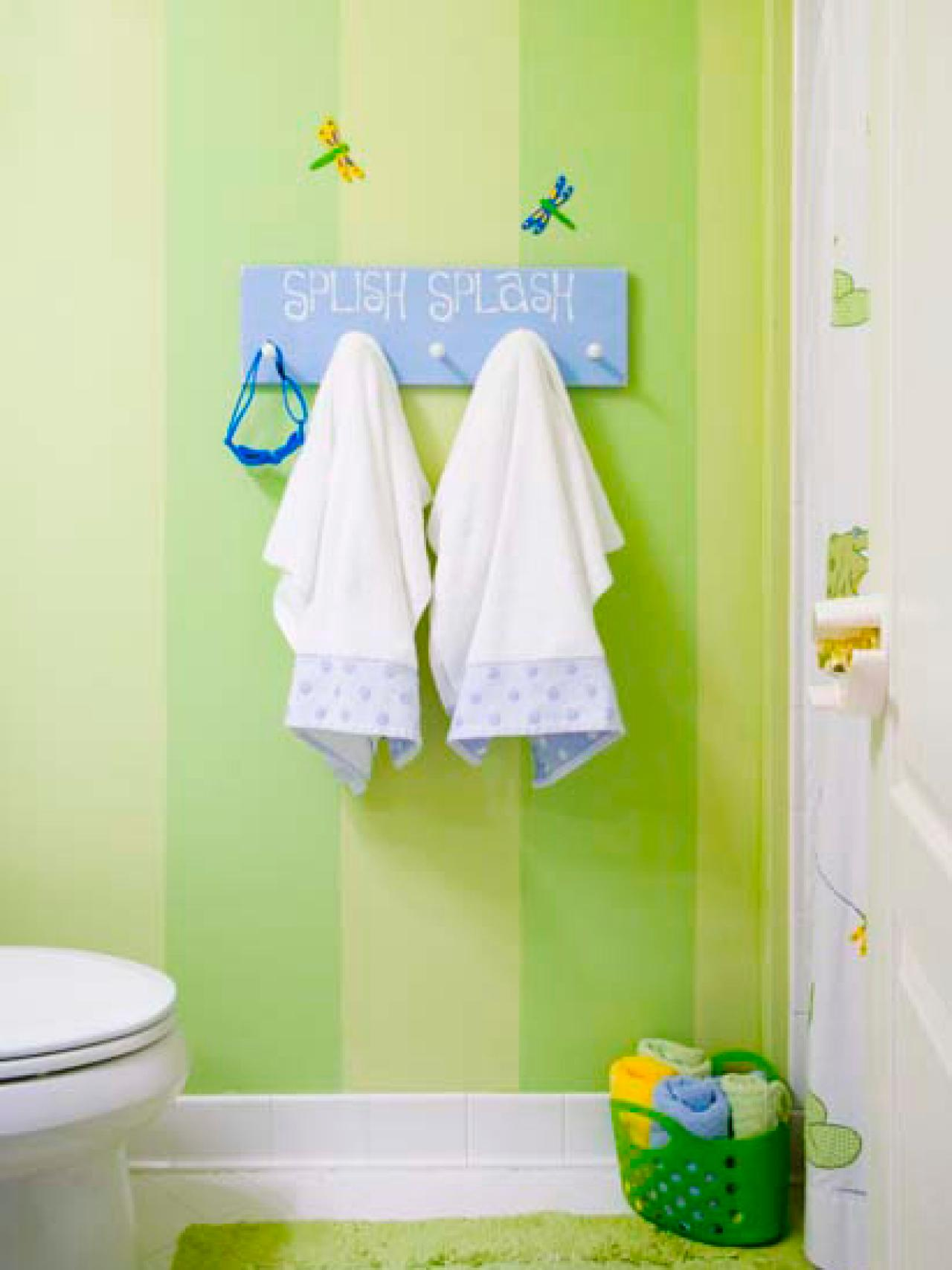 Best Beach Chic kids bathroom decor ideas