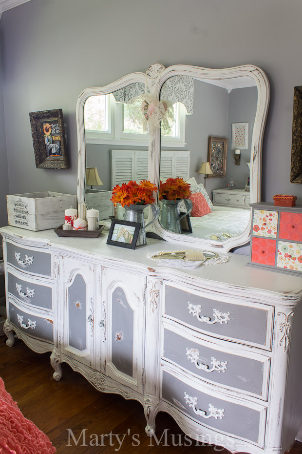 Best By using both chalk paint and Behr paint this bedroom furniture went shabby chic bedroom furniture