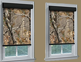 Best Camouflage Roller Shades camo window curtains