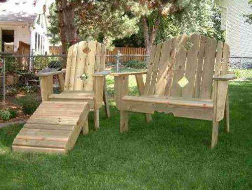 Best cedar wood garden furniture wooden garden lounger