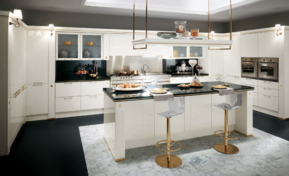 Get some great modern kitchen ideas for Classic contemporary kitchen design ideas