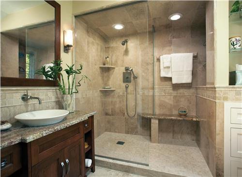 Best Contemporary (Modern, Retro) Bathroom by John Sylvestre. Classic  Contemporary Bathroom classic contemporary bathrooms