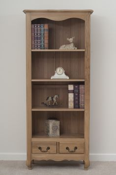 Best Grace Solid Oak Furniture Range Cabinet | Oak Bookcase u0026 Drawers Oak oak furniture land bookcase