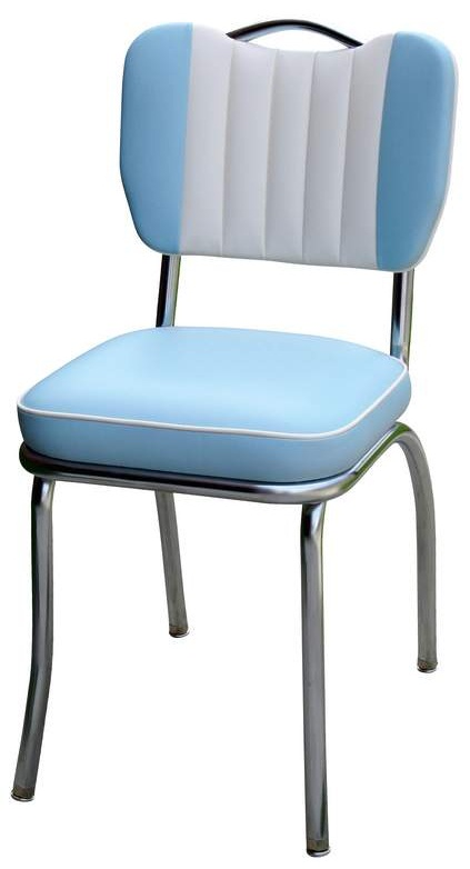 Best Handle Back Red Diner Chairs retro kitchen chairs
