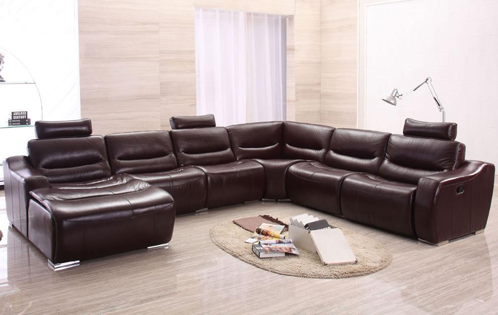 Best Large Modern U Shape Reclining Sectional Sofa u shaped sectional sofa