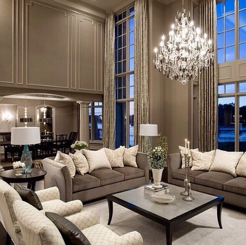 Best Lovely tones and open space. More. Living Room ... elegant living rooms